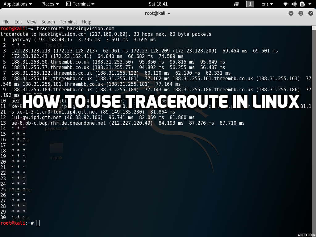 Traceroute Command